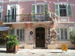 Hôtel le flore - façade