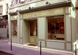 Hôtel Saint  Honoré Paris