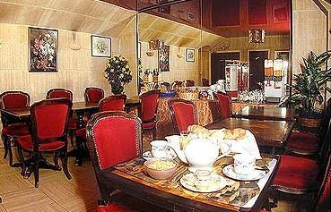 Salle petit déjeuner Hotel de l'alma Paris
