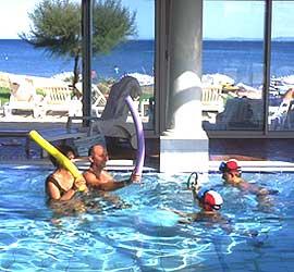 Hôtel Thalassa - piscine intérieure