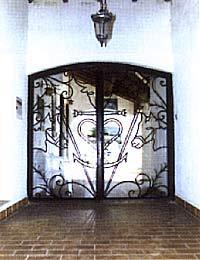 Entrée Hôtel Mas de La Grenouillère Les Sainte Maries de la Mer