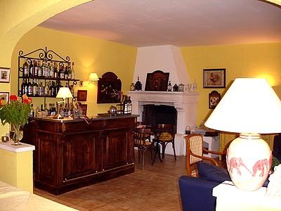 Réception Hôtel Mistral Mas Blanc des Alpilles