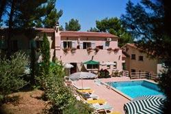 Façade Hôtel Le Mas des Ecureuils Aix en Provence