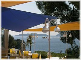 Terrasse Hotel-restaurant Le Revestel La Ciotat