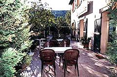 Terrasse Hôtel Restaurant Les Moulières Carnoux en Provence