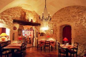 Salle Hotel Restaurant L'Oustaloun Maussane les Alpilles