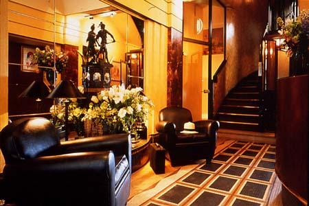 Hall Hôtel Elysées Matignon Paris