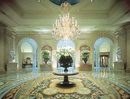 Hall Four Seasons Hotel George V Paris