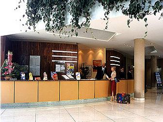 Réception Hôtel Mercure les météores Noisy le Grand