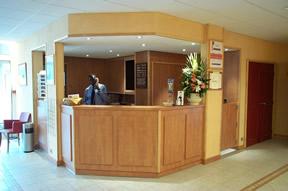 Réception Hôtel Kyriad Ivry-sur-Seine