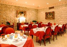 Salle petit déjeuner Hôtel du Ministère Paris