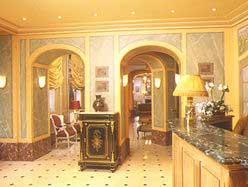 Accueil Hôtel de l'Elysée Paris