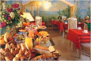 Salle petit déjeuner Hôtel Fortuny Paris