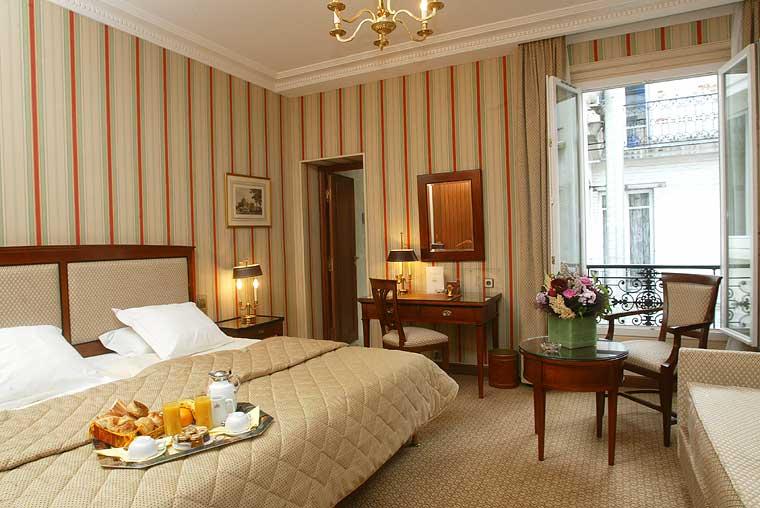 Chambre Hôtel Franklin Roosevelt Paris