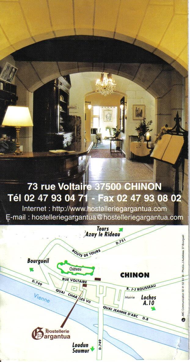 chambre Agnès Sorel Chinon
