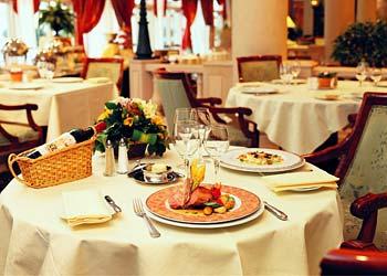 Restaurant Hôtel Marriott Paris Champs-Elysées