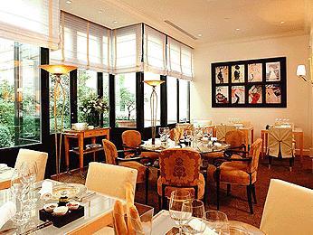 Restaurant Le Faubourg Sofitel Demeure Hotels Paris