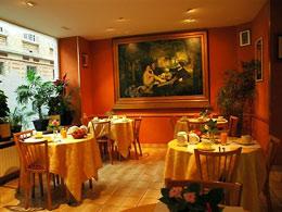 Salle Petit Déjeuner Hôtel Manet Paris