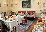 Salle petit déjeuner Hôtel Bradford Elysée Paris