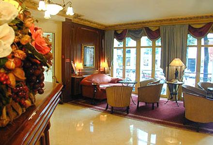 Réception Hôtel Elysées Céramic Paris