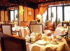 Salle petit déjeuner Hôtel Mayfair Paris